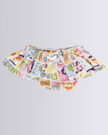 CandyFlossClouds Blocked Diaper Cover Skirt