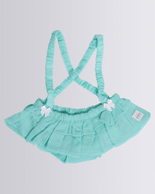 CandyFlossClouds Playsuit Turquoise
