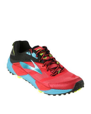9eba9a59601 Brooks Cascadia 12 Trailing Running Shoe Red