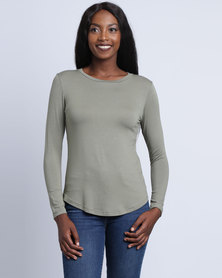 Utopia Basic T-Shirt Olive