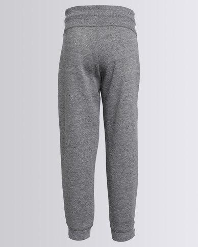 e248bbc7 Nike Girls Fleece Trackpants Grey   Zando