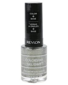 Revlon ColorStay Gel Envy Nail Enamel Smoke and Mirrors Silver