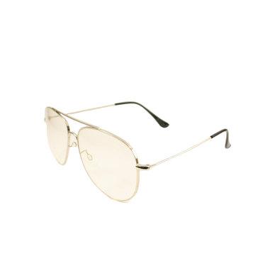 Lentes & Marcos Usera UV400 clear lens Aviator Sunglasses