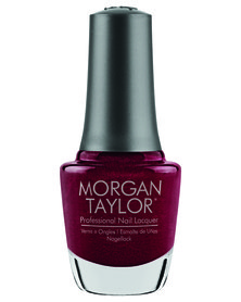 Morgan Taylor Professional Nail Lacquer The Last Petal Red