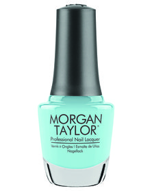 Morgan Taylor Professional Nail Lacquer Gaston And On And On Blue