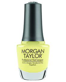 Morgan Taylor Professional Nail Lacquer Days In The Sun Yellow