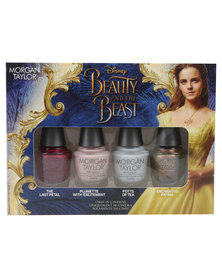 Morgan Taylor Professional Nail Lacquer Beauty & The Beast Mini 4 Pack Multi