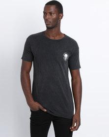 Silent Theory Boneriders Short Sleeve T-Shirt Acid Black