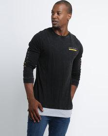 St Goliath Prophet Long Sleeve T-Shirt Black