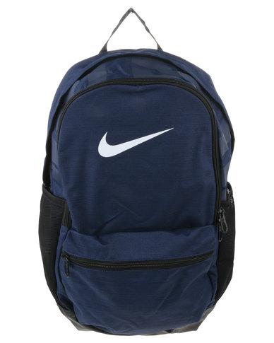 7052ba65bb Nike Performance NK BRSLA M Backpack Navy