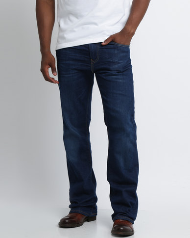 8c99890b Levi's ® 527 Slim Bootcut Festival Rain Jeans Blue   Zando