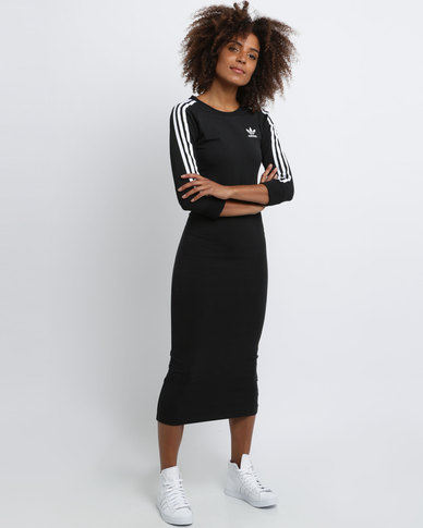 11a822f002c adidas 3-Stripes Dress Black | Zando