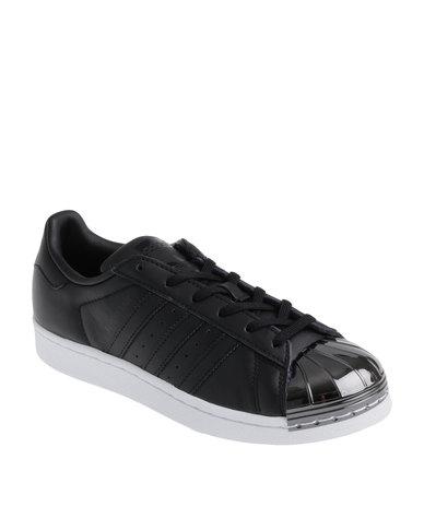 adidas Superstar Metal Toe W Gun Metal Toe Black