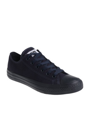 Soviet Viper Canvas Low Cut Lace Up Navy Mono