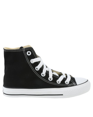 Soviet Viper Hi Casual Lace Up High Top Canvas Sneakers Black