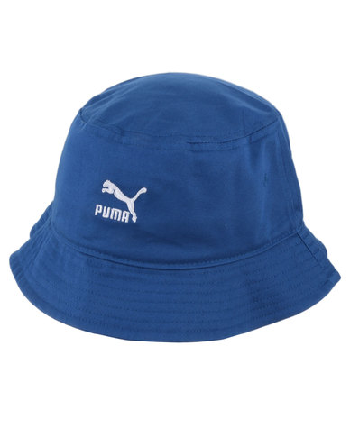 Puma LS Core Bucket Hat True Blue  327a7f422c5