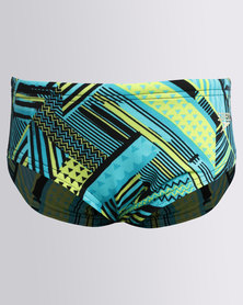 Speedo Waraweave A/O 6.5cm Brief Blue