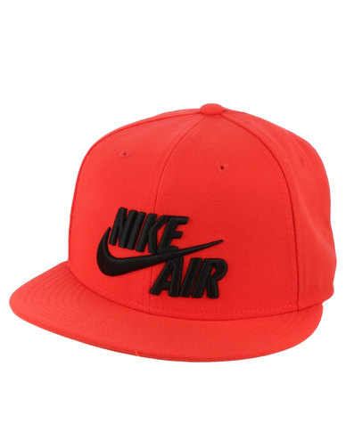 1c0dfffba7a Nike Air True Snapback Hat Orange | Zando