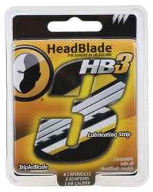 HeadBlade HB3 Triple Blade 4ct Kit