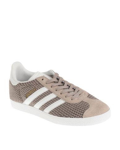 meilleur service 24697 30616 adidas Gazelle Womens Sneakers Light Brown
