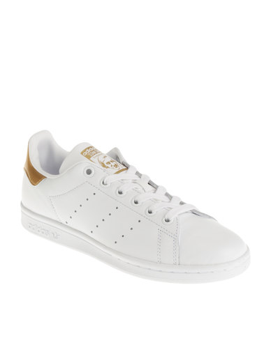 reputable site 1ed49 5ba61 adidas Stan Smith W Metalic Heel Pack Sneaker White/Pink