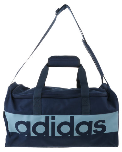 06f328519af40e adidas Performance Linear Performance Team Bag Small Blue | Zando
