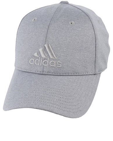 d458577c2f2 adidas Performance 6 Panel Melange Cap Grey