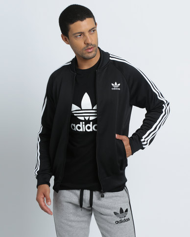 promo code 6b362 c74ef adidas Superstar Track Top Black