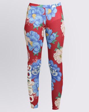 ba92e6147f304 adidas Chita Rose Oriental Linear Leggings Multi | Zando