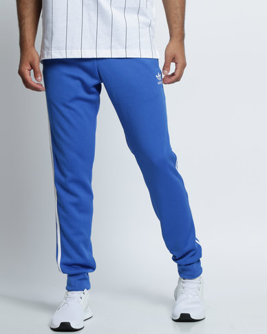 adidas Superstar Cuffed Track Pants Blue
