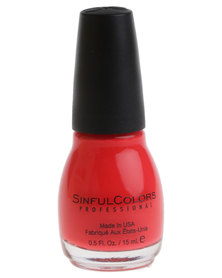 Sinful Colours Nail Enamel Energetic Red