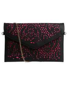 Vikson Ladies Perf Envelope Black
