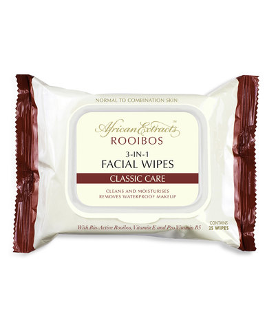 African Extracts Classic Care 3-in-1 New Facial Wipes