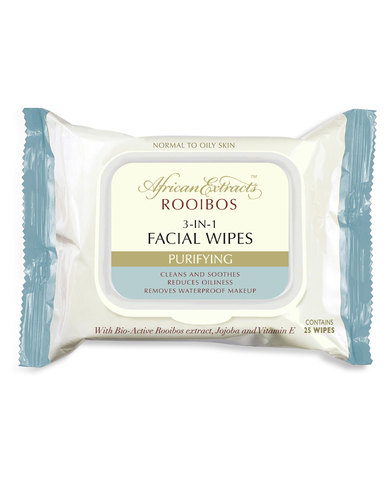 African Extracts Purifying 3-in-1 Facial Wipes