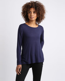 Utopia Relaxed Fit Tee Navy