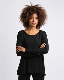 Utopia Relaxed Fit Tee Black