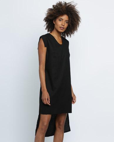Vintage Zionist Stevil Dress Black