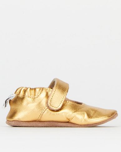 Shooshoos Miss Bling Party Pumps Gold