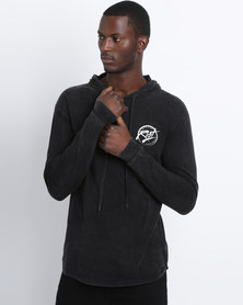 Silent Theory Insight T-Shirt Long Sleeve Acid Black