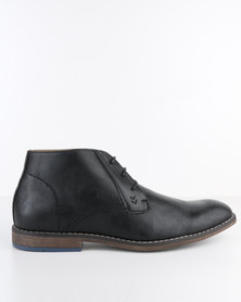 Bata Formal Lace-Up Boot Black
