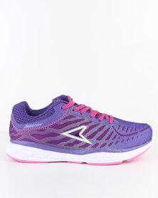 Power Performance XO Rise Phantom Running Shoe Purple Pink