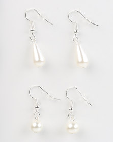 Jewels and Lace Pearl Earring Twinpack