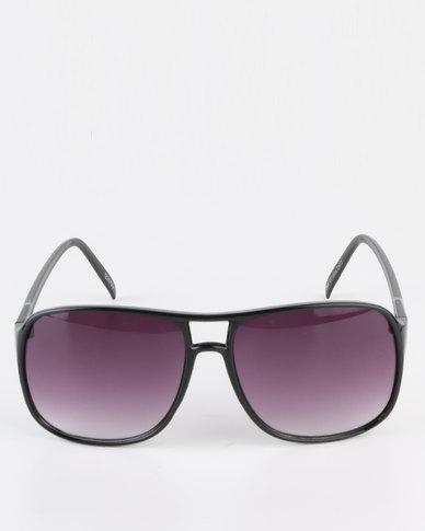 Spitfire Frame Gradient Lens Glasses Black