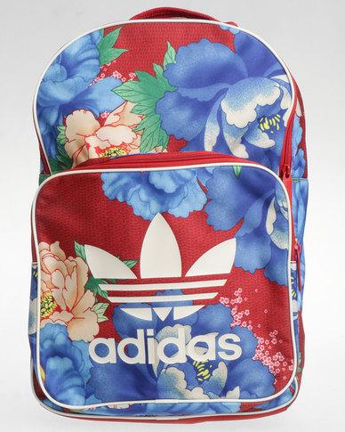 adidas Classic Originals CL Backpack Floral Print Multi  687212ea99f03