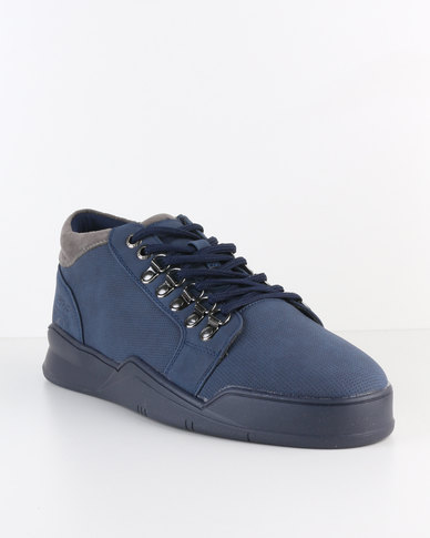 Paul of London Casual Lace Up Sneakers Navy