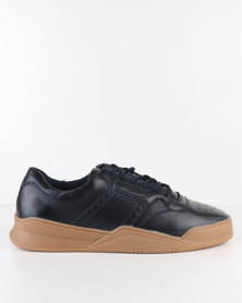 Paul of London Casual Lace Up Sneaker Navy
