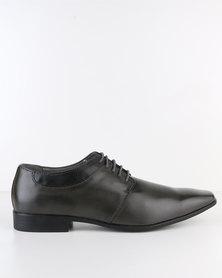 Paul Of London Sleek Formal Lace Up Shoe Grey
