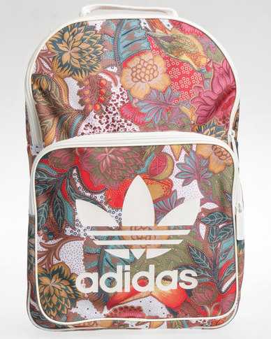 4d0fcc60da adidas Floral Print B Classic Backpack Multi