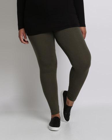 Utopia Plus Basic Leggings Olive