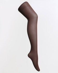 Falke School Tights with Lycra Brown